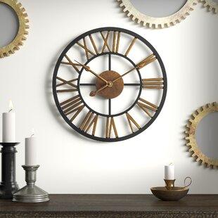 Winterville 13 75 Round Wall Clock