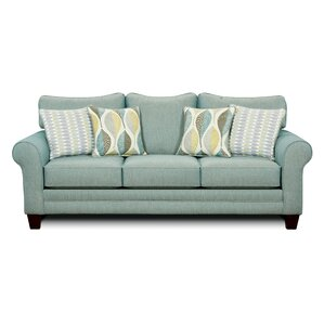 Azula Upholstered Sofa by Hokku Designs