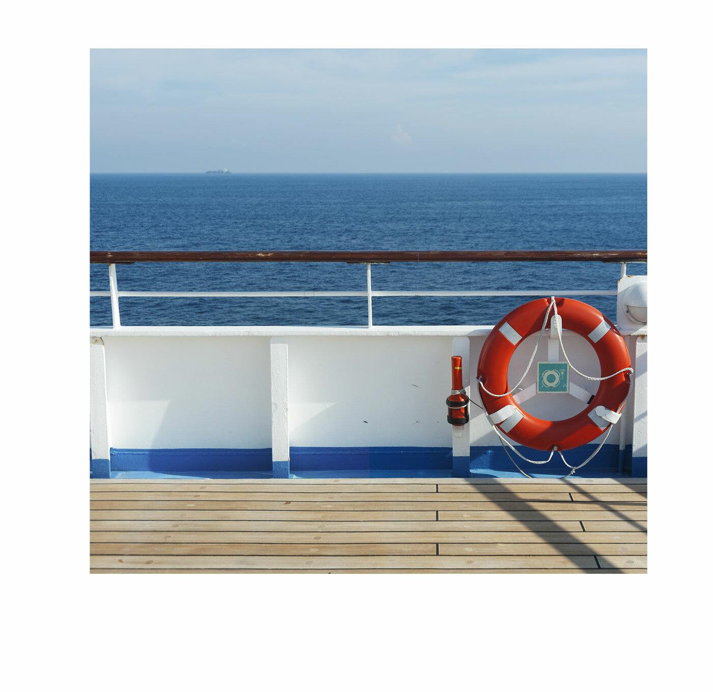 Advanced Graphics Cruise Ship Deck Backdrop Standup | Wayfair