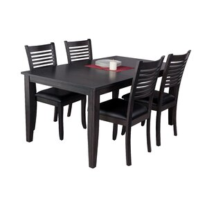 Haan Traditional 5 Piece Dining Set by Re..