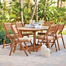 Patio furniture outdoor dining and seating wayfair for Terrace chairs