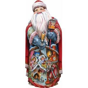 Masterpiece Signature Nestled For The Night Santa Figurine