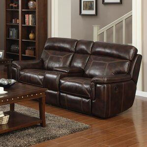 Jonathan Reclining Loveseat by E-Motion Furniture