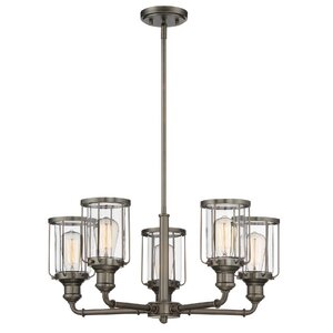 Adriana 5-Light Candle-Style Chandelier