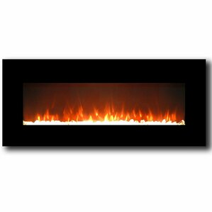 Lawrence Crystal Wall Mount Electric Firepla..