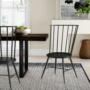 Vecchia Dining Chair (Set of 2) & Metal Kitchen u0026 Dining Chairs Youu0027ll Love | Wayfair