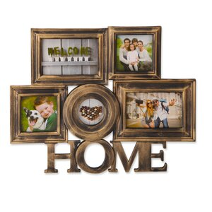 Kinzer Home Collage Plastic Picture Frame
