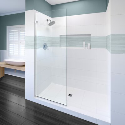 """Basco Celesta 30"""" x 76"""" Frameless Shower Door"""