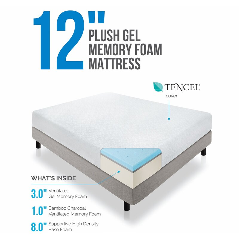 hot sale online 973ac a2435 Wayfair Sleep 12