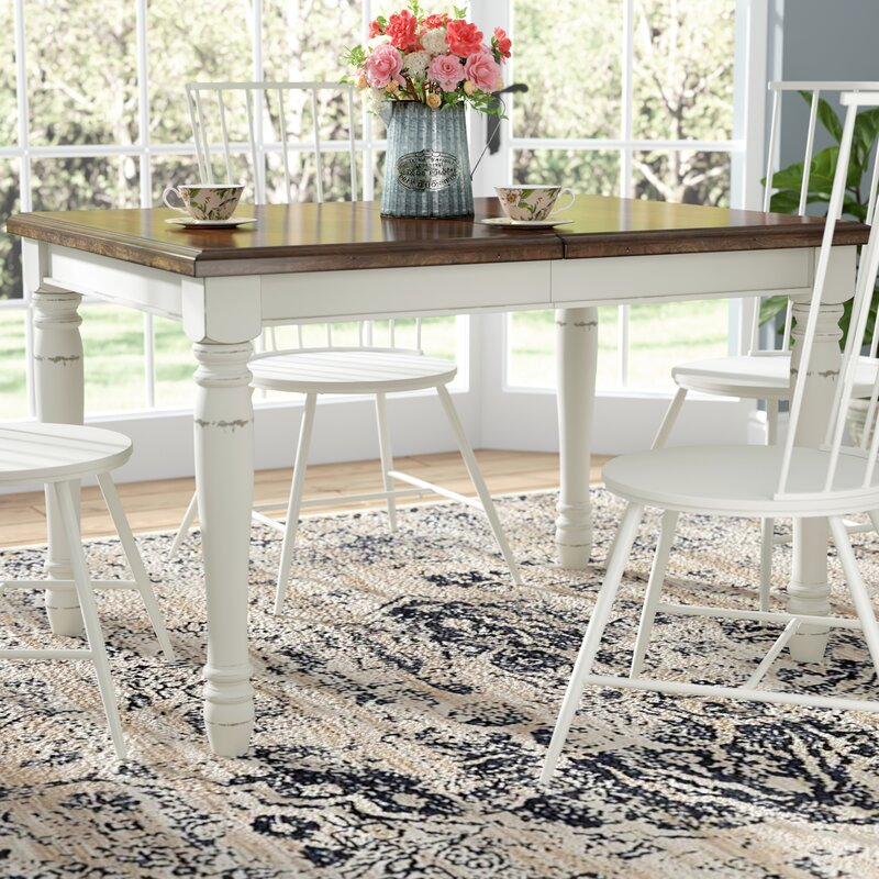 45816b0f6c8a Laurel Foundry Modern Farmhouse Extendable Dining Table   Reviews ...