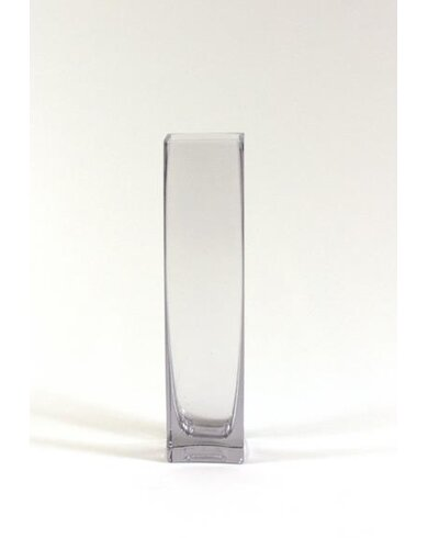 Wgvinternational Square Block Glass Vase Wayfair