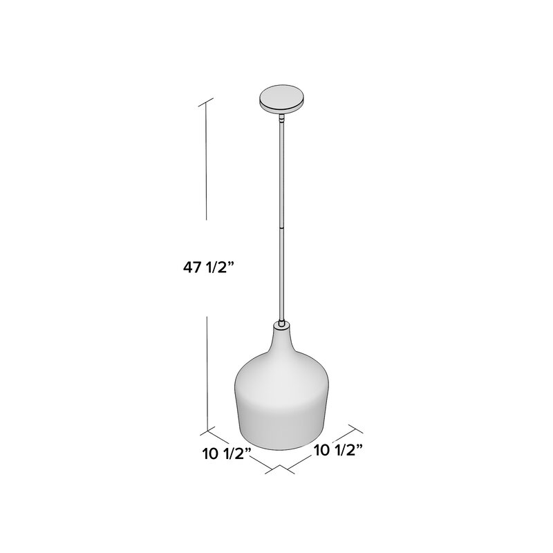 Knoxville 1-Light Mini Pendant