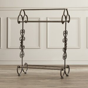 Traditional Metal Quilt Rack by Fleur De Lis Living