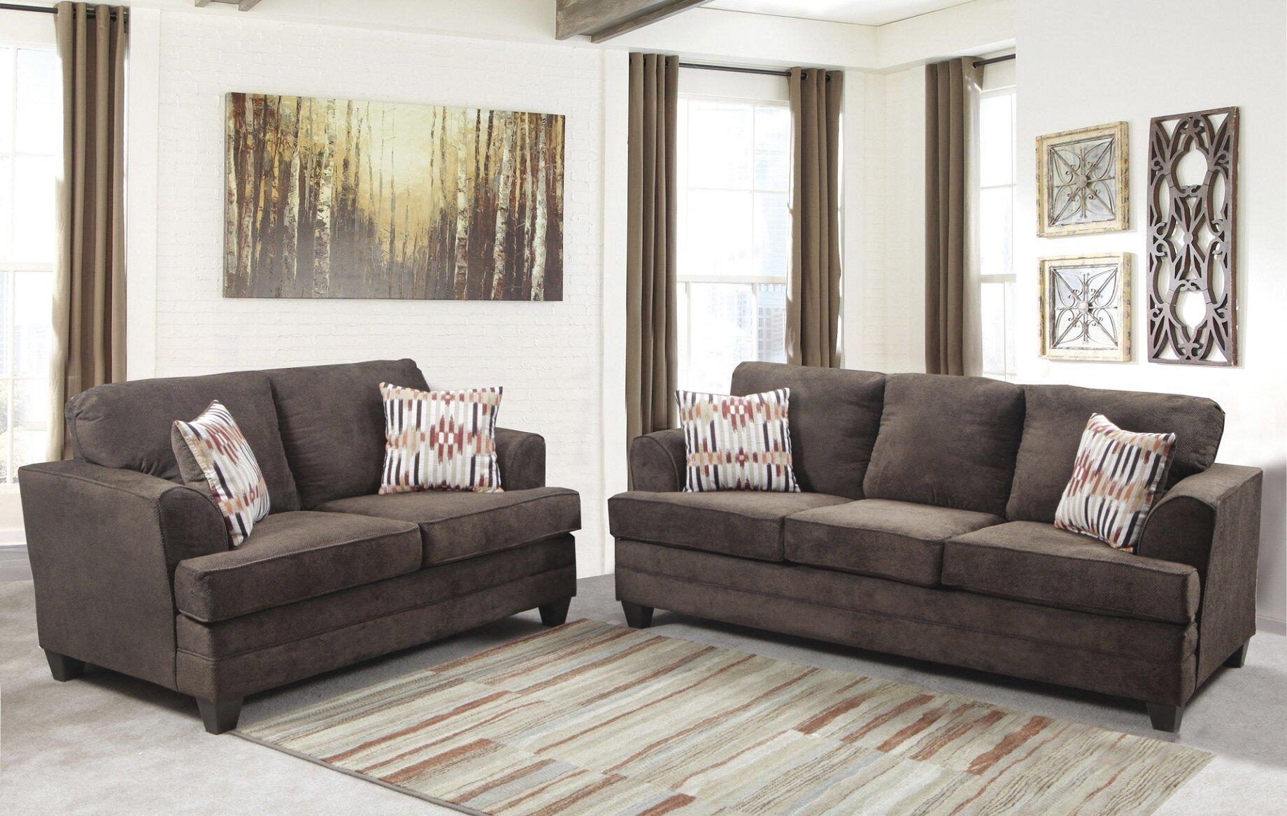 Winston porter napoleon 2 piece living room set wayfair