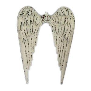 Metal Angel Wings Wall Decor metal angel wings wall art | wayfair