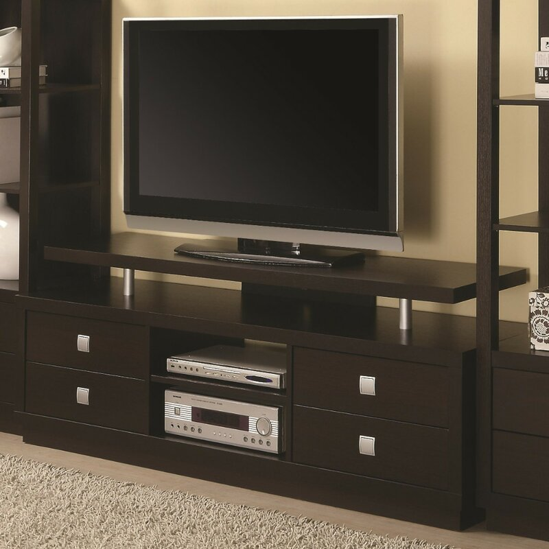 Latitude Run Priya Minimal Tv Stand For Tvs Up To 60 Wayfair