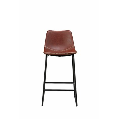 Counter 24 Quot 27 Quot Faux Leather Bar Stools You Ll Love In