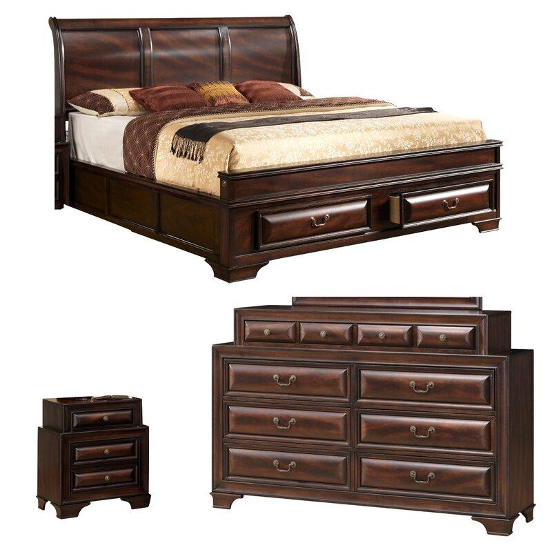 Furniture Store Online Usa: Global Furniture USA Sarina Panel Configurable Bedroom Set