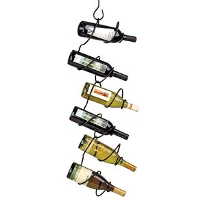 Climbing Tendril 6 Bottle Hanging Wine..