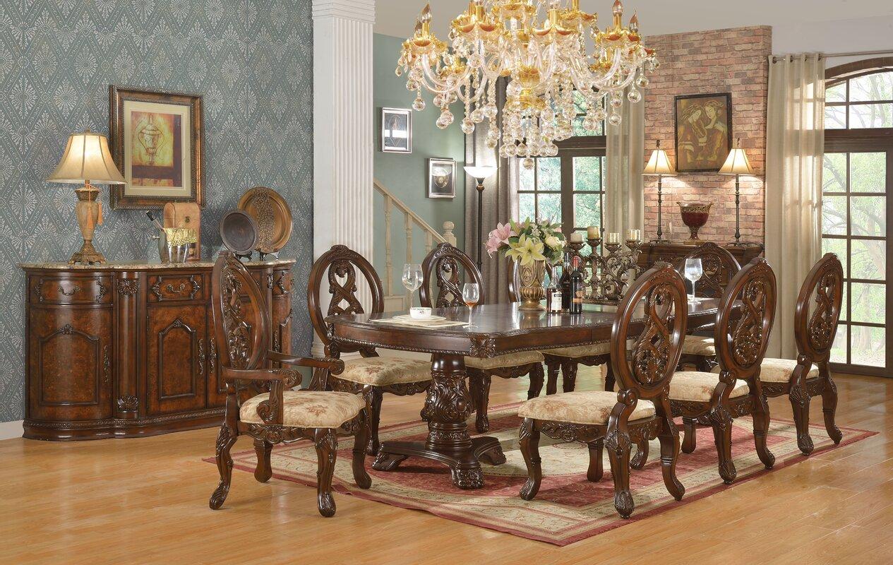 Astoria Grand West End 7 Piece Extendable Dining Set