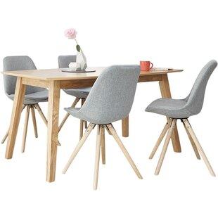 Kiris Dining Set With 4 Chairs