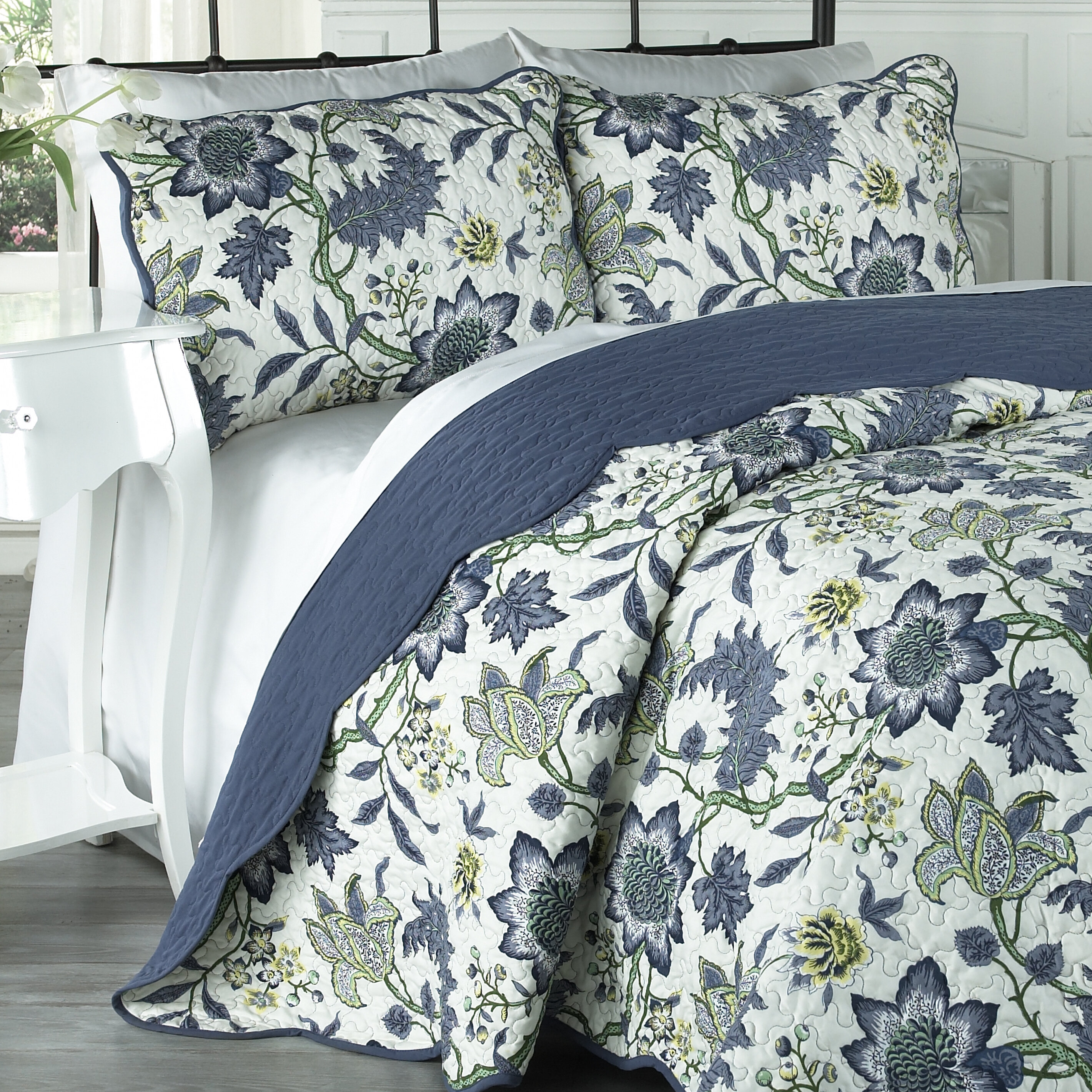 Traditions by Waverly 3 Piece Quilt Set & Reviews | Wayfair