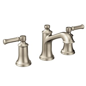 Dartmoor Bathroom Faucet Double HandleBrushed Nickel Sink Faucets You ll Love   Wayfair. Three Piece Bathroom Faucet. Home Design Ideas