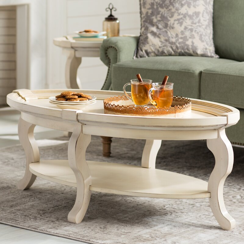 Lane Furniture Wood Coffee Table: Birch Lane™ Hicks Oval Coffee Table & Reviews