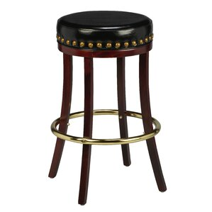 Amoroso Beechwood Backless Bar Stool by Red Barrel Studio