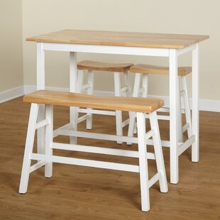 Macon 4 Piece Pub Table Set