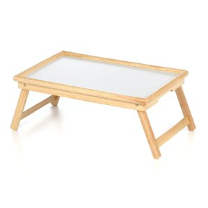 Maude Breakfast Tray With Flip Top And Foldable Legs