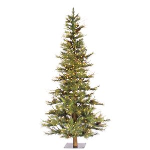 artificial christmas tree with 300 dura lit clear lights with stand - Artificial Christmas Trees Sale