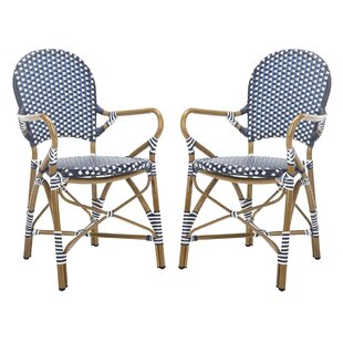 Culpeper Stacking Patio Dining Chair Set Of 2