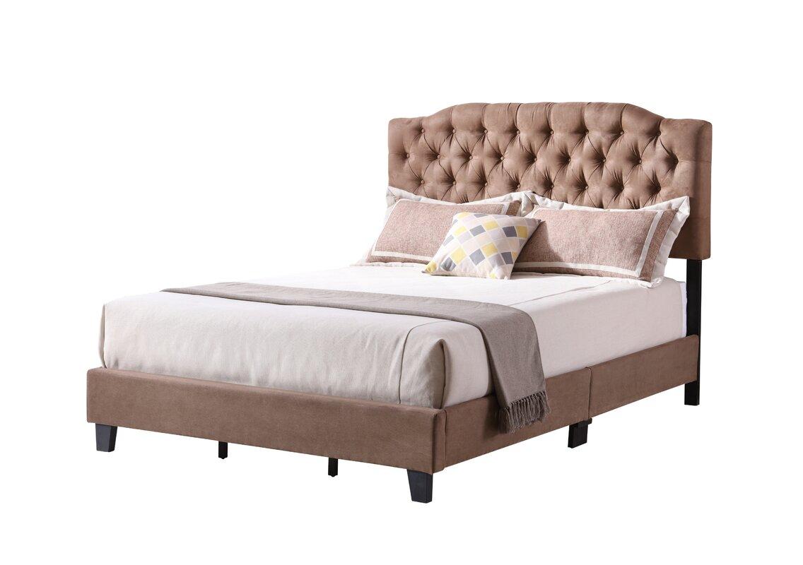 Wayfair Upholstered Panel Bed: Ophelia & Co. Aastha Upholstered Panel Bed & Reviews