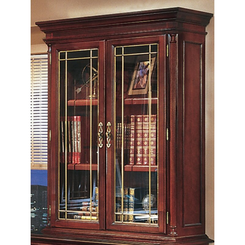 Darby Home Co Prestbury 2 Door Storage Cabinet With Leaded Glass