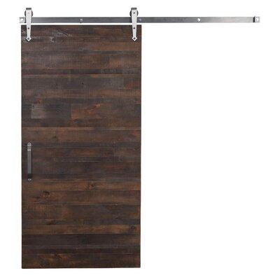 Reclaimed wood barn door wayfair - Reclaimed wood interior barn doors ...