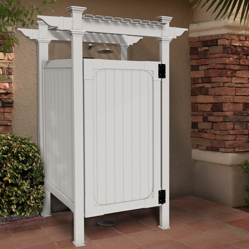 Zippity Outdoor Products Hampton Outdoor Shower Kit Reviews Wayfair