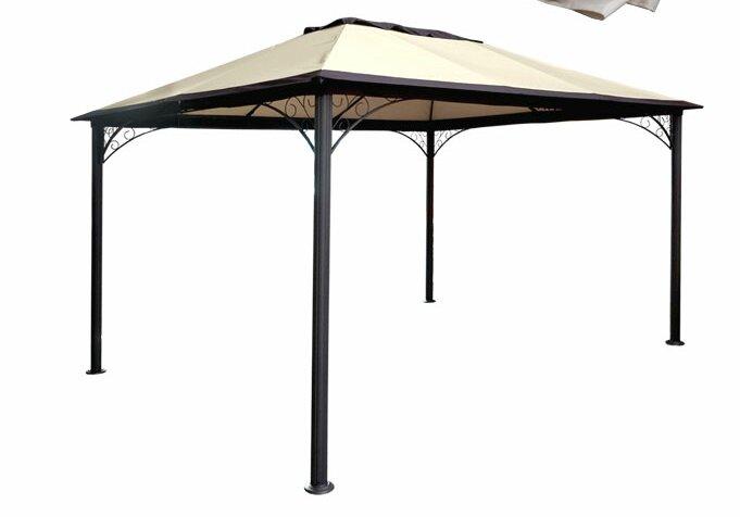 hazelwood home pavillon merida aus metall bewertungen. Black Bedroom Furniture Sets. Home Design Ideas