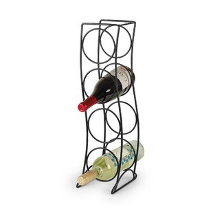 Curve 4 Bottle Tabletop Wine Rack