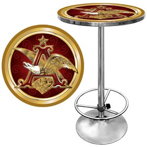 Budweiser Pub Table II by Trademark Global