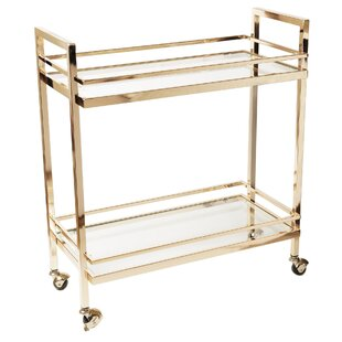 Rolling Bar Cart