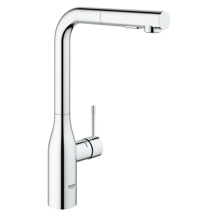 Nice Essence Pull Out Single Handle Kitchen Faucet With SilkMove®