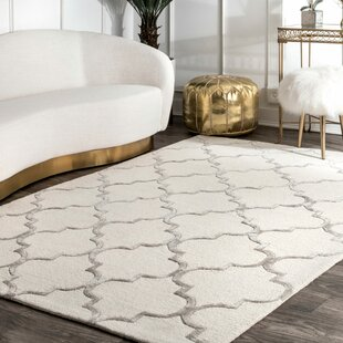 Noirmont Hand Woven Ivory Area Rug