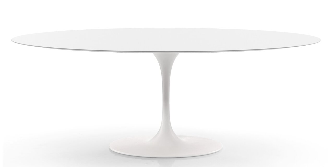 Langley Street Larkson White Dining Table & Reviews
