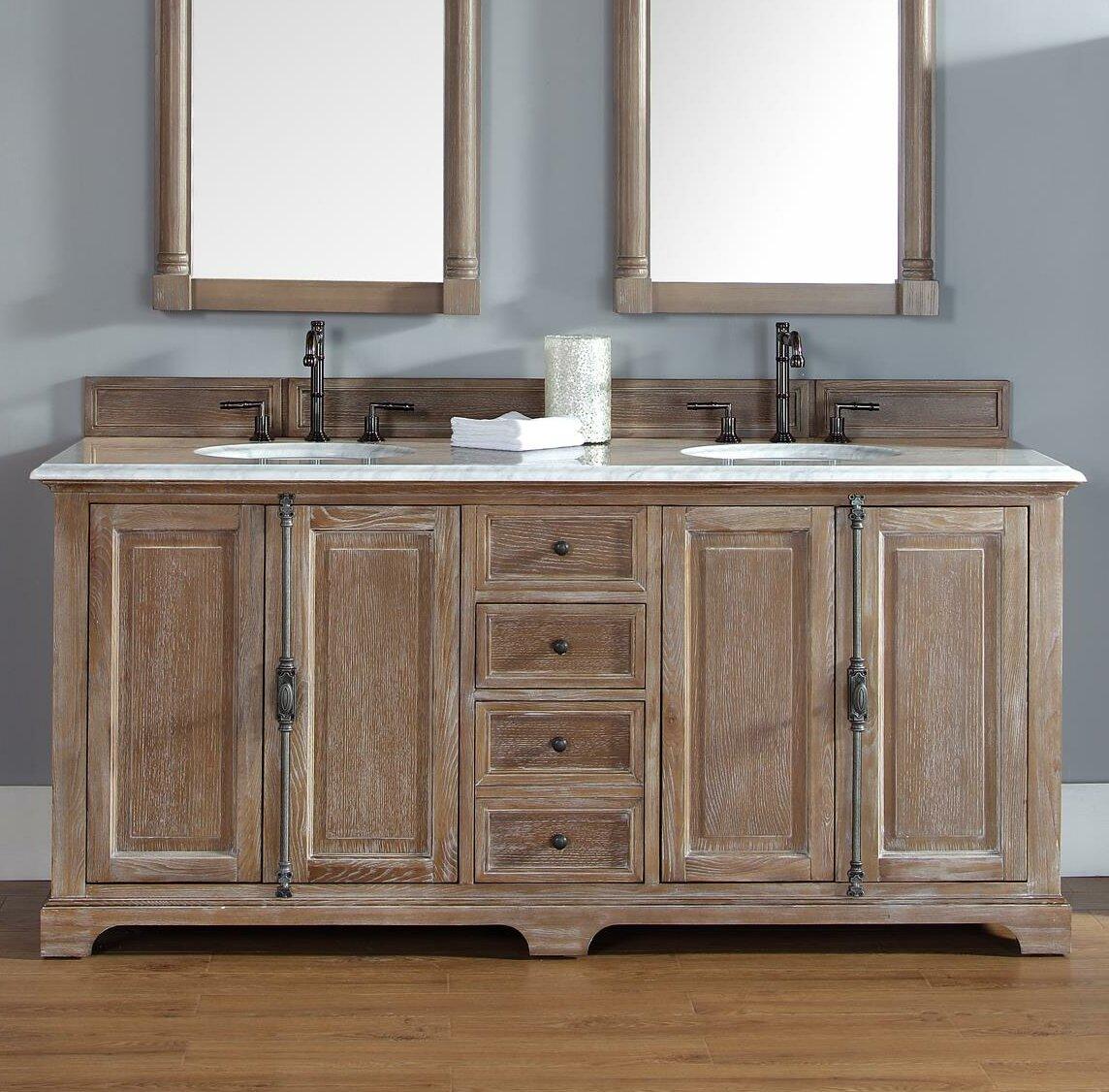 Terrific Ogallala 72 Double Bathroom Vanity Set Home Interior And Landscaping Ferensignezvosmurscom