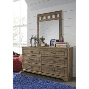 Brobern Dresser with Mirror by Harriet Bee