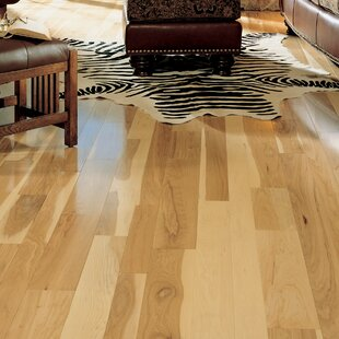 Specialty 5 Solid Hickory Hardwood Flooring In Natural By Somerset Floors