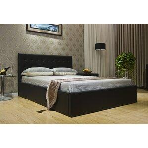 upholstered storage platform bed - Bed Frame With Storage