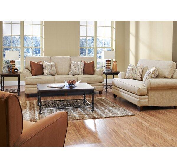 Klaussner Furniture Clayton Configurable Living Room Set Reviews Wayfair