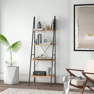 Great buy Almanzar Ladder Bookcase Mercury Row